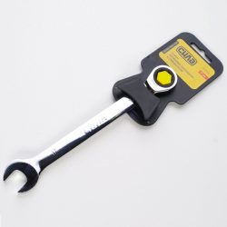 Ключ рожково-накидной с трещоткой CrV