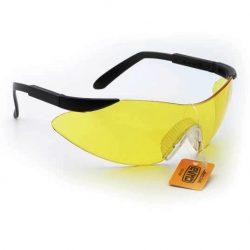 Очки защитные ЭКСТРИМ (янтарные) СИЛА 480201