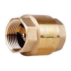 Клапан обратный с латунным штоком